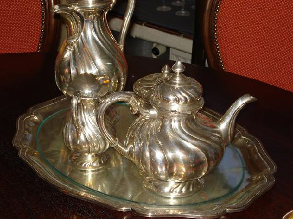 Silver Tea and Coffee Sets, flatware and other silver works