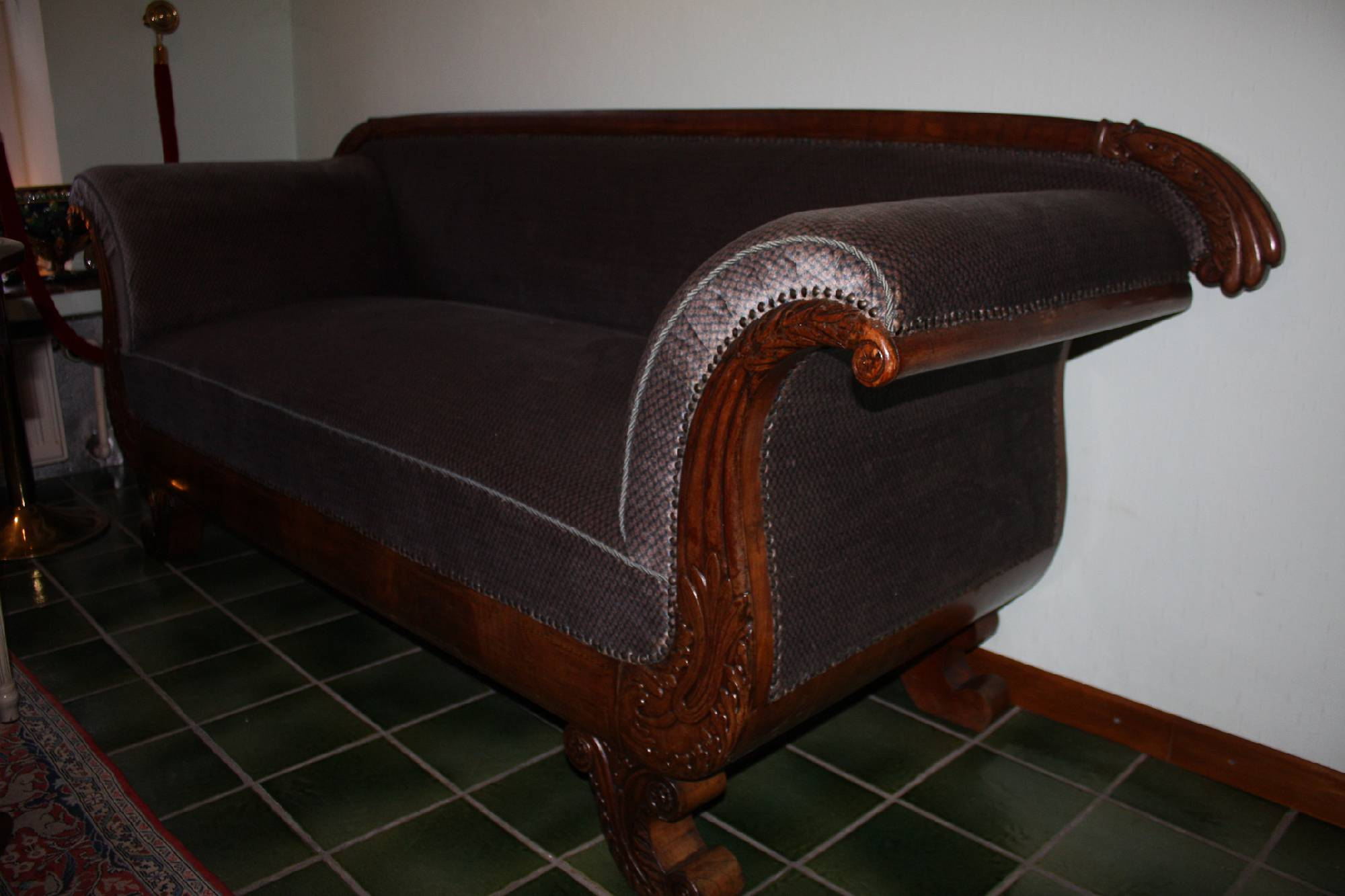 German mid-19th century Biedermeier Sofa
